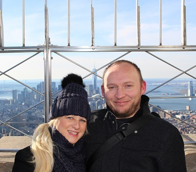 top of the empire state