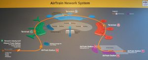Newark AirTrain map
