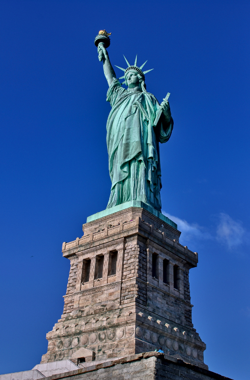 how to view the statue of liberty