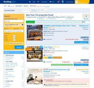 Booking.com process 1