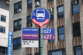 bus stop new york