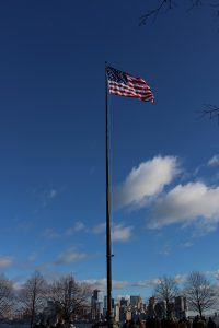 flag-liberty-island