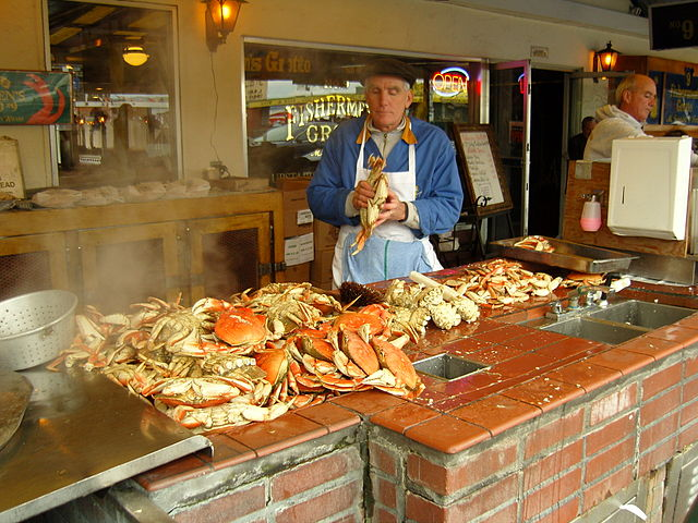 Dungeness Crab Fishermans Wharf