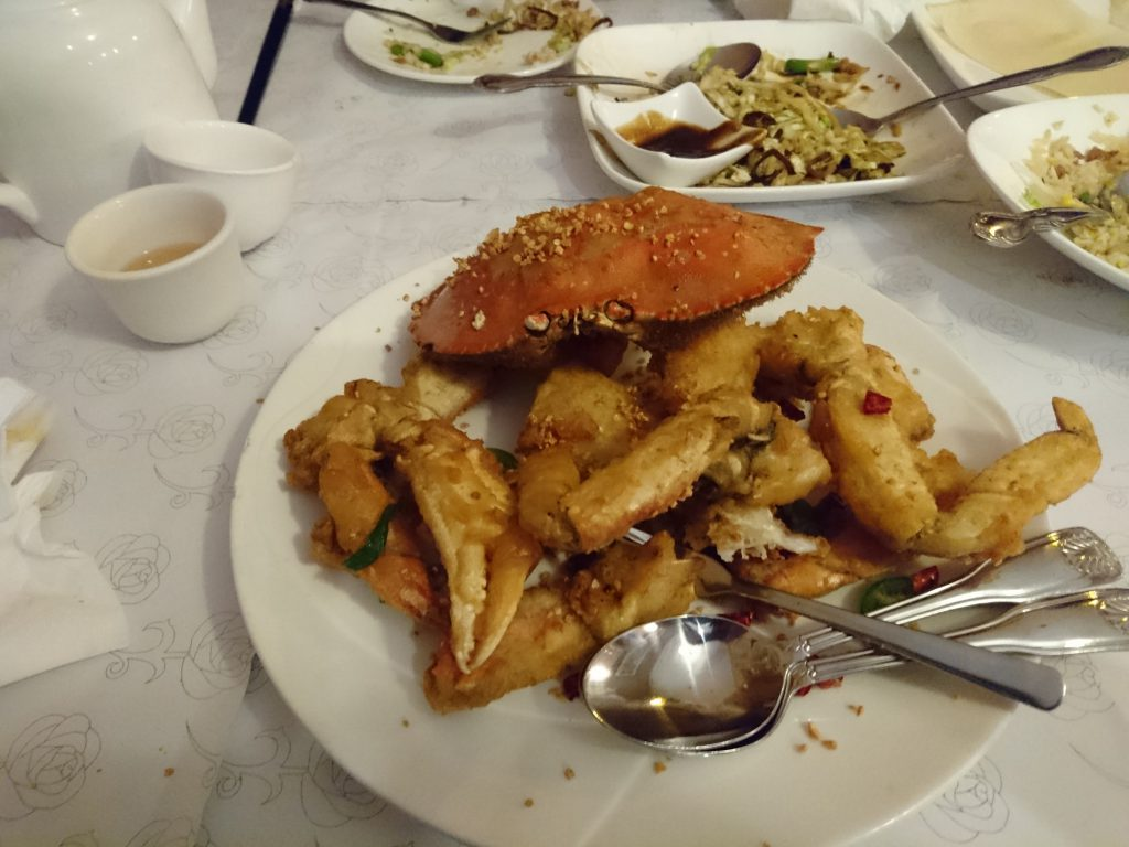 Salt and pepper crab
