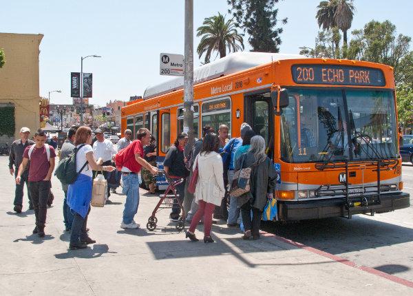 LA Metro 200 bus stop