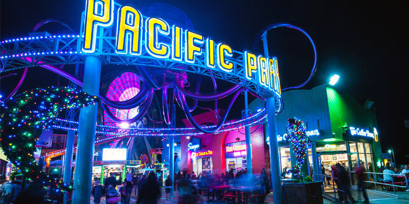 Pacific b Park on the Santa Monica Pier