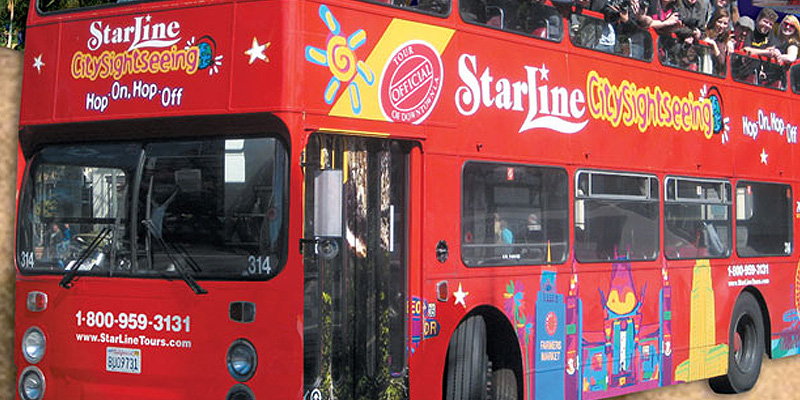 Starline Tours Hop-On Hop Off Yellow Loop Tour