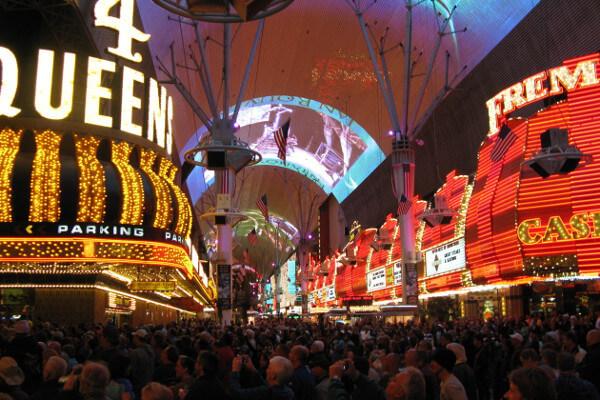 Fremont Street Experience Las Vegas