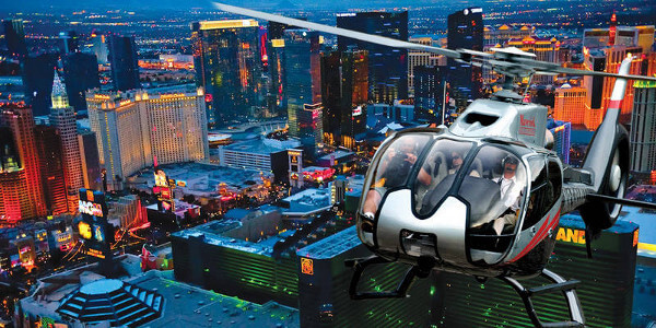 Las Vegas Strip Helicopter Tour Night Flight