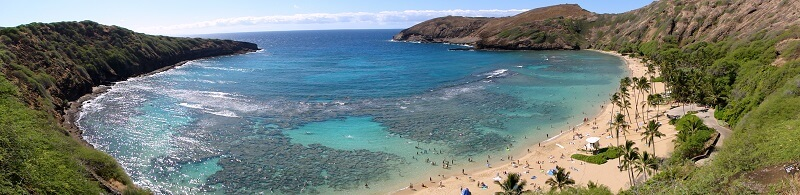 Hanauma Bay Panoramic View