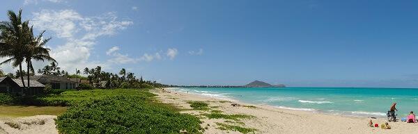 Kailua Beach Panorama
