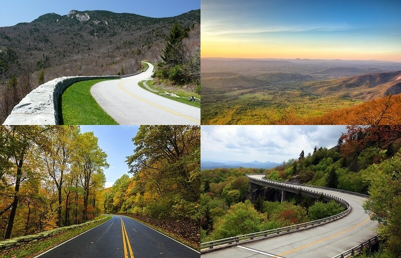 Blue Ridge Parkway Skyline drive