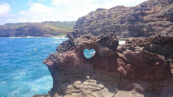 heart rock Maui