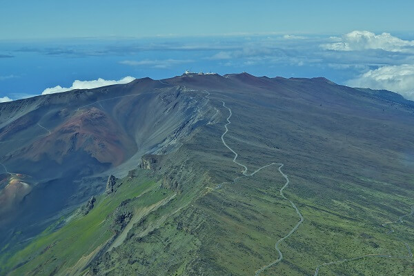 Road to Haleakala Crater