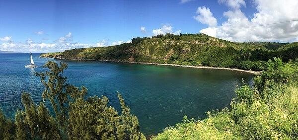 Hawaii Maui Honolua Bay