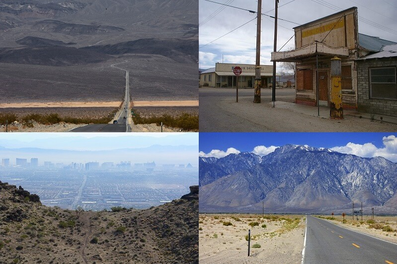 Driving Death Valley from Las Vegas