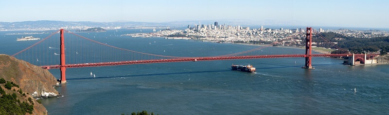 Walking Golden Gate Bridge