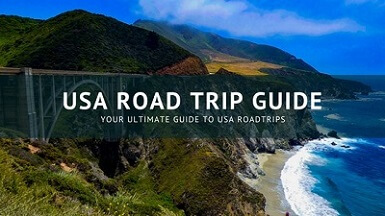 USA Road Trip Guide Icon