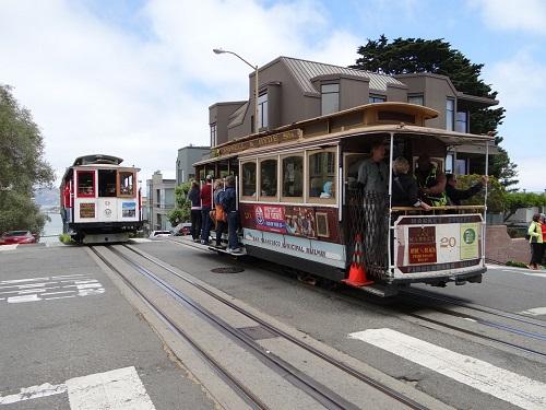 Cable Car California Tram San Francisco