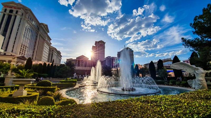 Caesars Palace Fountains