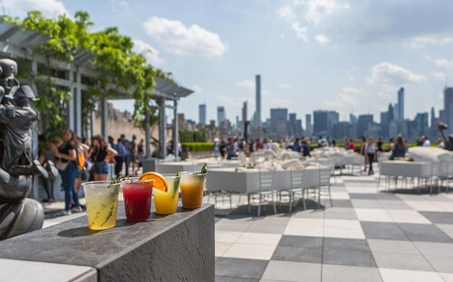 Roof Garden at the Met