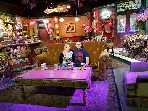 Friends Set Warner Bros Tour