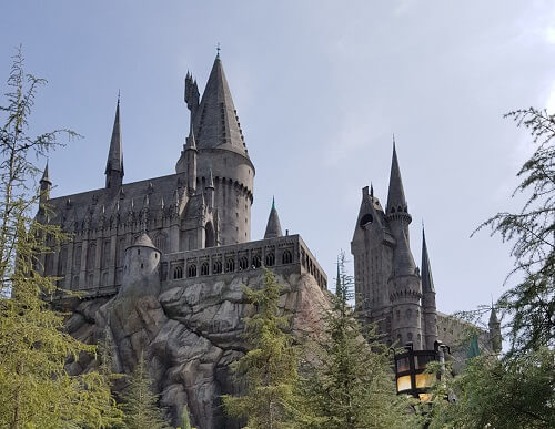 Hogwarts Universal Hollywood