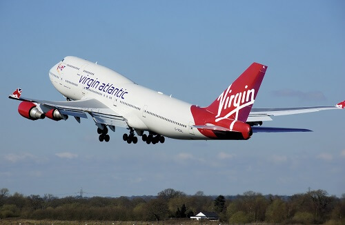 Virgin Atlantic 747 400