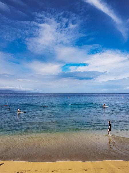 Airport Beach Maui conditions