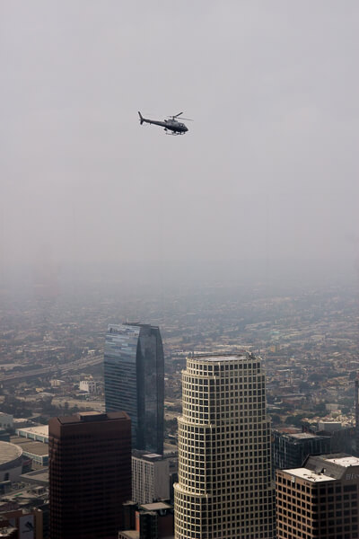 OUE Skyspace Trump Helicopter