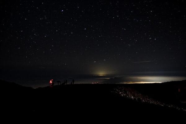 Stars from Haleakala