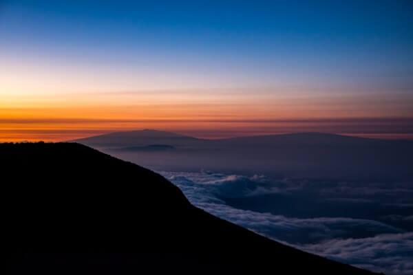 Sunrise Colours Haleakala