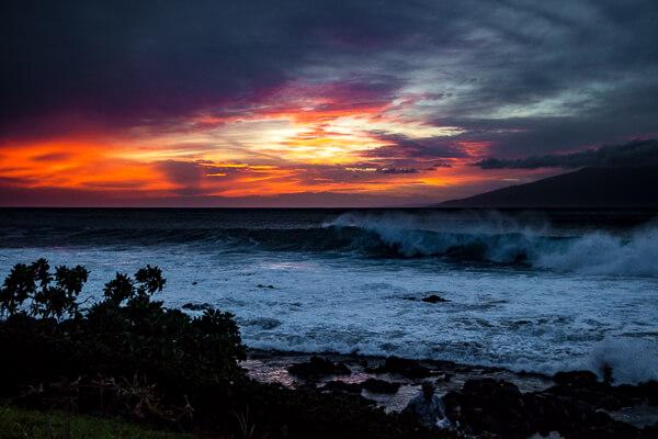 Napili Bay Sunset