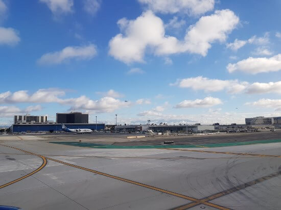 LAX Taxiway Apron