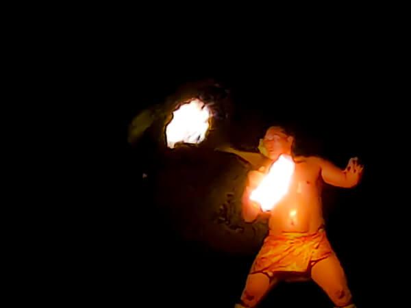 Te Au Moana Luau - fire dancer