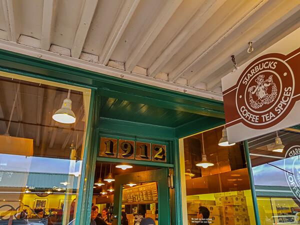 The Original Starbucks Coffee house