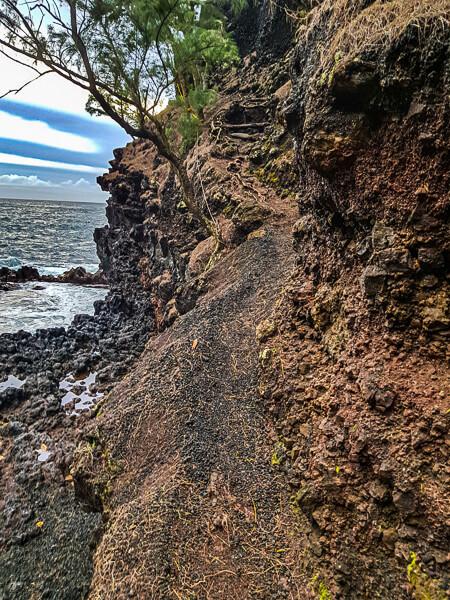 Red Sand Beach trail