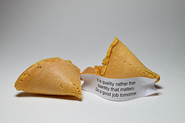 San Francisco Chinatown Fortune cookies