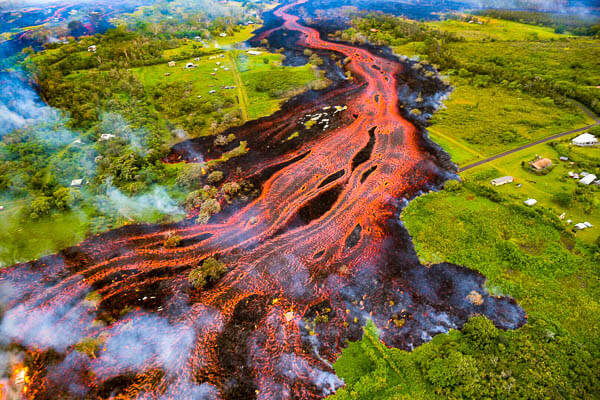 Kilauea Rivers