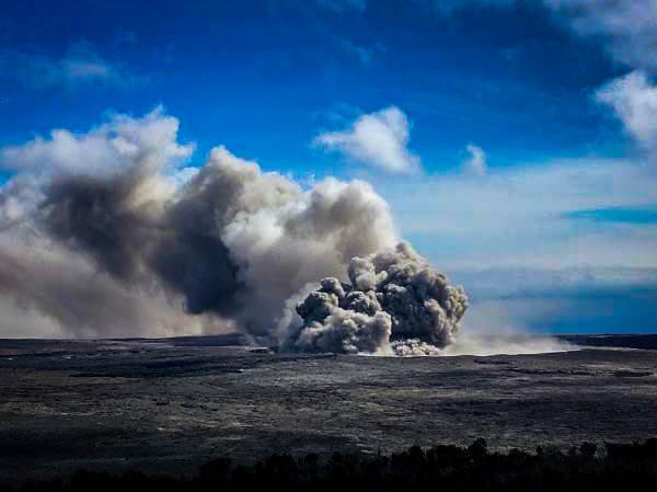 Kilauea Summit Eruption