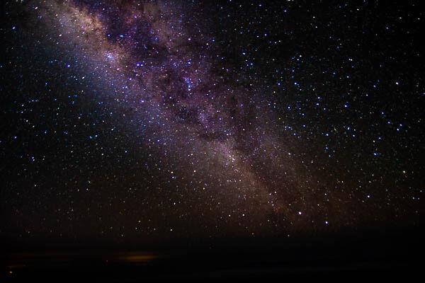 Haleakala Milky way bright