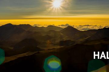 Maui sunrise on Haleakala