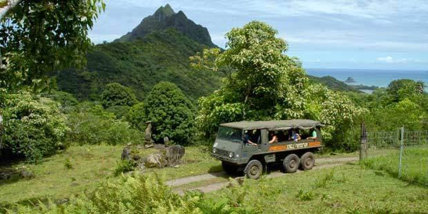Kualoa Ranch Jungle Tour