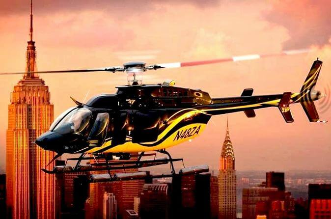 New York Manhattan scenic-helicopter tour in new york city