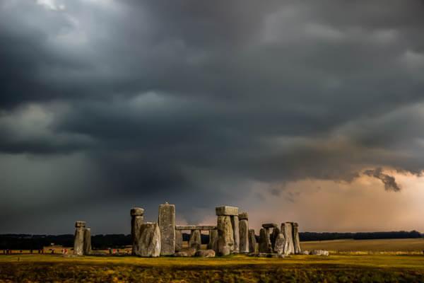 Stonehenge storm