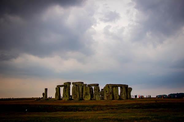 Stonehenge busy