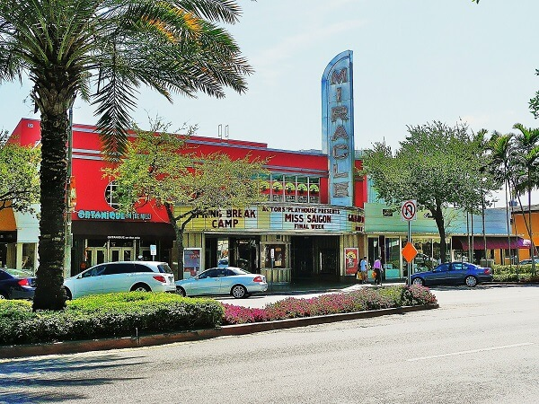Miracle Theater in Coral Gables