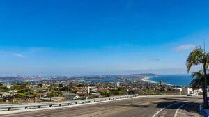San Diego From La Jolla Heights
