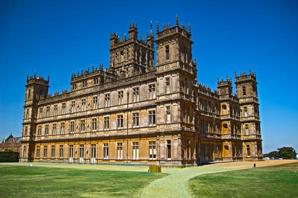 Visiting Downton Abbey