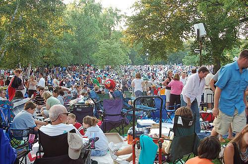 Ravinia Festival Lawn